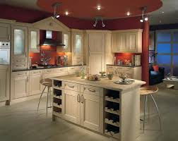 witching shaker kitchen style features brown maple wood kitchen