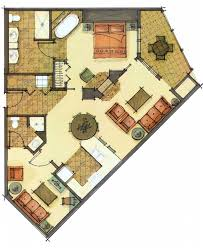 One Bedroom Floor Plans Room Types U0026 Floor Plans At Morning Star Lodge At Silver Mountain
