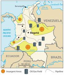 Bogota Colombia Map South America by South America