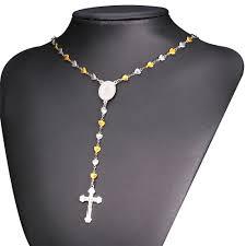 christian jewlery aliexpress buy rosary necklace for men women christian