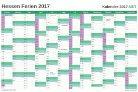 Kalender 2018 Hessen Brückentage Ferien Hessen 2017 Ferienkalender übersicht