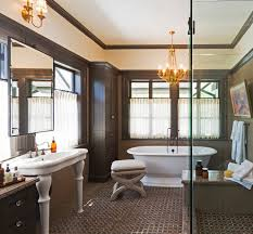 style powder room designs with