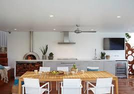 chauffage cuisine rangement bois de chauffage pour l intérieur en 55 idées