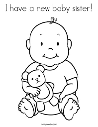 100 ideas coloring pages baby on www gerardduchemann com