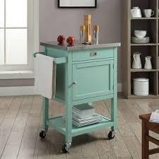 Oasis Island Kitchen Cart Green Kitchen Islands U0026 Carts You U0027ll Love Wayfair
