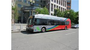 new flyer electrifies us dot u0027s earth day fair with electric buses