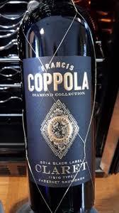 francis coppola claret 2014 francis ford coppola cabernet sauvignon diamond collection