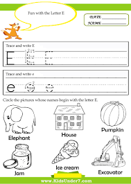 kids under 7 alphabet tracing pages