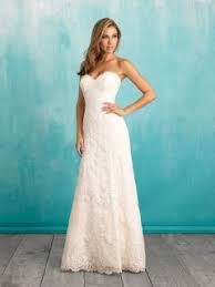 a line wedding dresses a line floor length v back simple curved strapless lace wedding