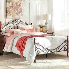 Iron And Wood Headboards Mixed With A Little Modern And Lots Of White Bedding Antique