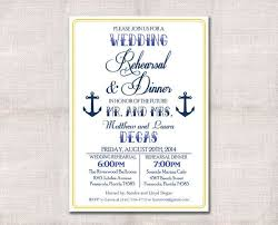 rehearsal dinner invitations nautical rehearsal dinner invitations reduxsquad