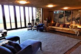 frank lloyd wright living room photos frank lloyd wright s wisconsin home taliesin don t miss