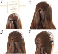 Easy Dressy Hairstyles For Long Hair by Easy Updo Hairstyles For Long Hair Step By Step Women Medium Haircut