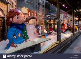 window display at macy s department store