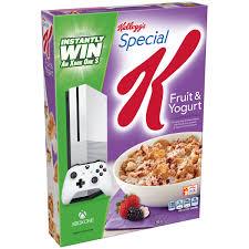 Breakfast Food Cereal Walmart Com by Kellogg U0027s Special K Fruit U0026 Yogurt Cereal 12 5 Oz Box Walmart Com