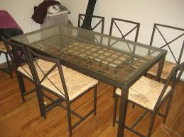 Ikea Glass Table Top by Dining Room Stunning Dining Room Sets Ikea Design For Elegant
