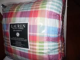 Ralph Lauren Comforter Set Brown Plaid Comforter Sets Vcny Home Baxter Reversible 3piece