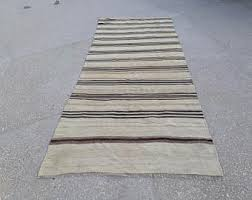 Striped Runner Rug Striped Kilim Etsy