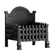 slemcka traditional cast iron fire basket h 300mm d 430mm