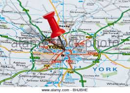 road map of york road map of york stock photo royalty free image