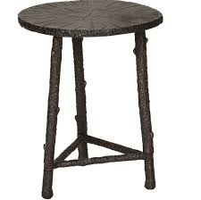 Bronze Accent Table Bronze Aluminum Accent Table Cabana Home