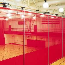 Curtains To Divide Room Roll Up Gym Divider Curtains Draper Inc