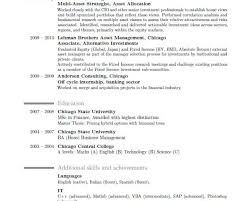Management Consulting Resume Management Consulting Resume Buzzwords Resume Formatting Guidelines