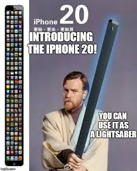 Lightsaber Meme - the iphone 20 imgflip