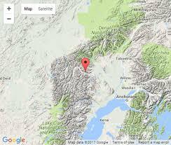 Uaa Map Earthquake Centered In Alaska Range Shakes Southcentral Alaska