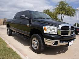 Dodge Ram Diesel Trucks Used - only has 28k miles a 2009 dodge ram 2500 truck mega cab turbo