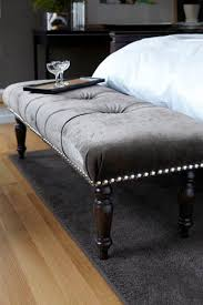 Furniture Benches Bedroom by Best 20 Tufted Bench Ideas On Pinterest Diy Fabric Headboard