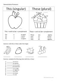 Free Adjective Worksheets Demonstrative Adjectives Worksheet Free Esl Printable Worksheets