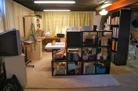 magnificent unfinished basement storage ideas with unfinished