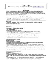 accounts receivable resume objective accounts receivable resume
