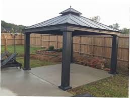 Lowes Patio Gazebo by Hardtop Gazebo Lowes Gazebo Ideas