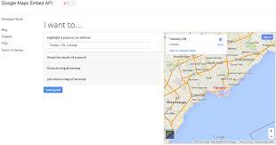 Maps Api Google Maps Embed Api Lets Developers Include Maps In Websites