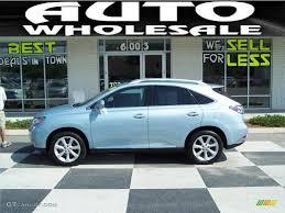 2010 Cerulean Blue Metallic Lexus Rx 350 32151185 Gtcarlot Com