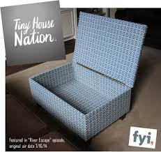 Diy Storage Ottoman Diy Ottoman Featured On Tiny House Nation The Style Files