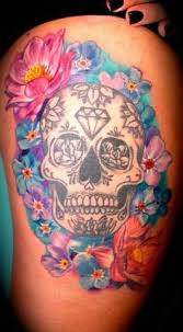 3d photo gallery flower sugar skull for free live