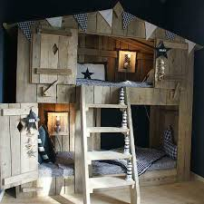 Fabulous Boys House Beds House Beds Kids Rooms And Doors - Treehouse bunk beds