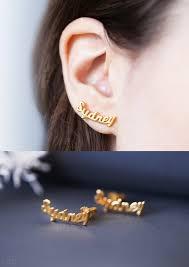 Custom Name Earrings Custom Name Earrings Personalized Earrings Stud Name