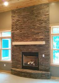 stone for fireplace stack stone fireplace ebizby design