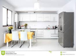 Minimalist Decor by Interior Design Modern And Minimalist Kitchen With Appliances And