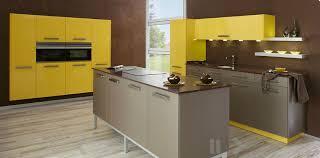 yellow and brown kitchen ideas yellow modern kitchen interior design ideas