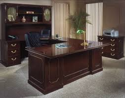 Mahogany Office Furniture by Traditional Styling Is Shown In The Attention To Detail With The