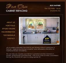 Cabinet Refacing Charlotte Nc by Website Design Portfolio Robin Castaldi Web Design Charlotte Nc