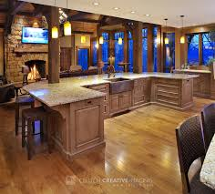 kitchen with two islands mullet cabinet large rustic timber frame kitchen with two