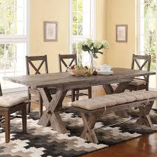 tuscany table sunny designs tuscany distressed mahogany 6 piece