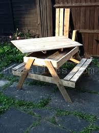 building table with storage picnic table designs unique pallet picnic table pallets like the