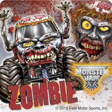 zombie monster jam truck monster jam fan favorites stickers from smilemakers